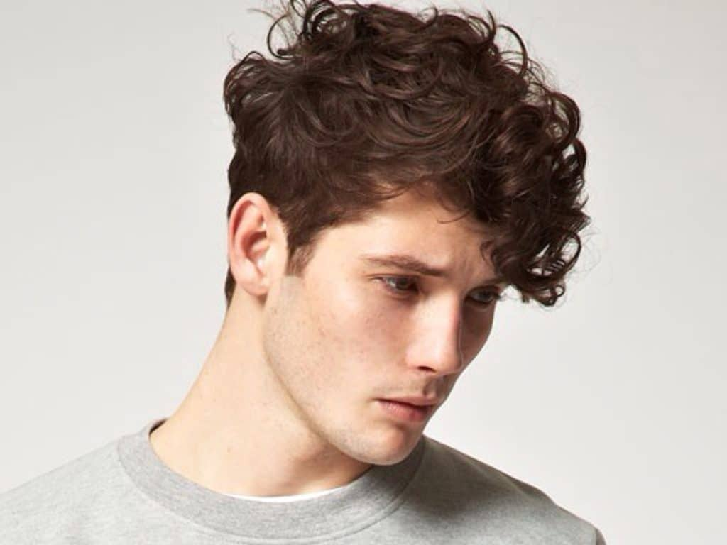 Style Tips For Men With Curly Hair Next International Salons
